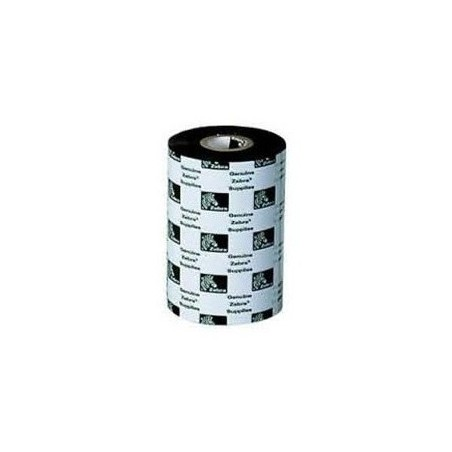 "RIBBON DE CERA ZEBRA 2100BK11090 4.33"" (110mm)"
