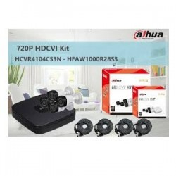 DAHUA HCVR4104CS3KITII KIT...